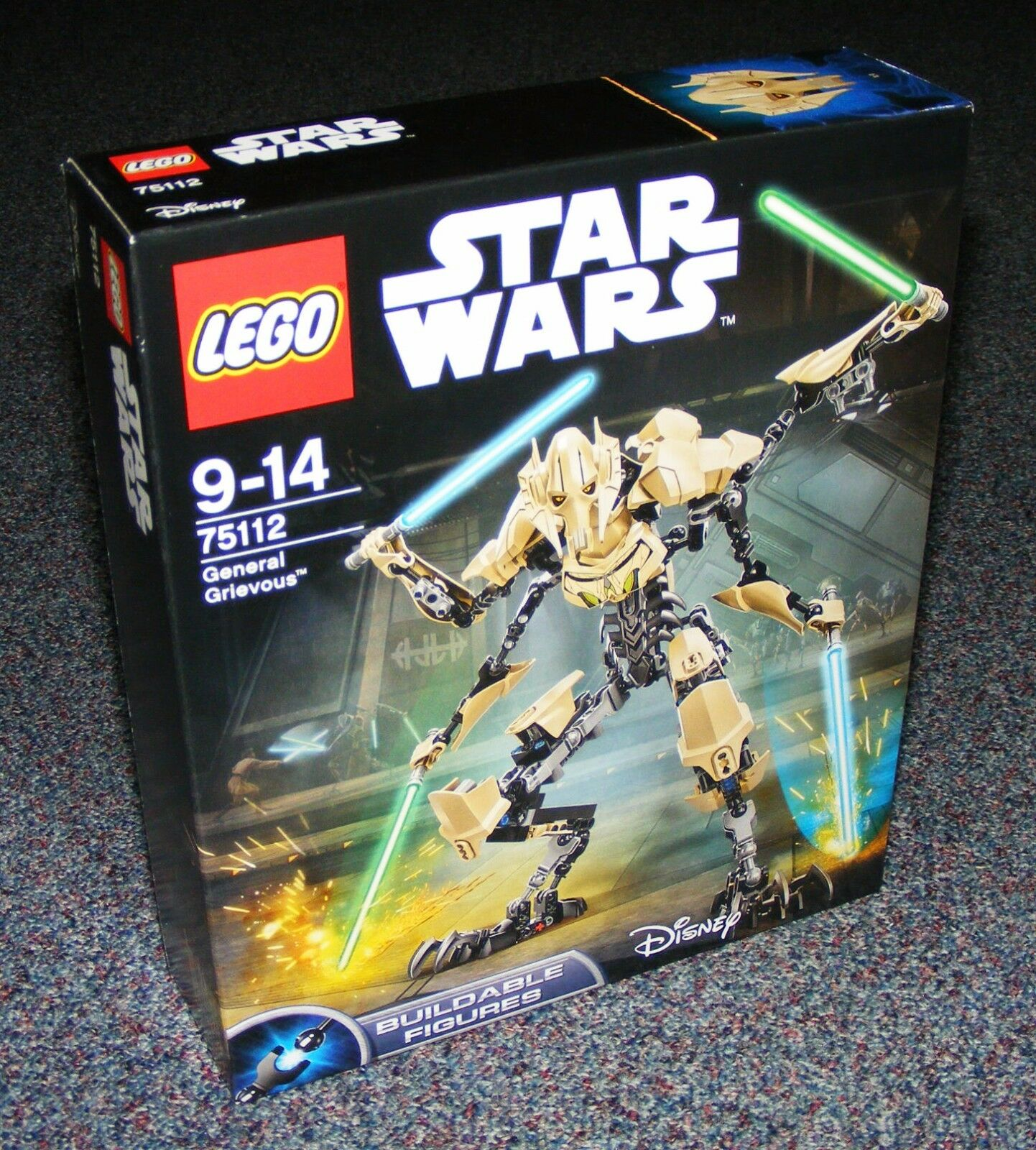 STAR WARS LEGO 75112 75112 75112 GENERAL GRIEVOUS BUILDABLE FIGURE BRAND NEW SEALED 331dae