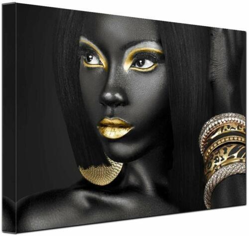 Egyptian Decor Queen Woman Portrait Artwork Gallery Canvas Prints Room Wall Art