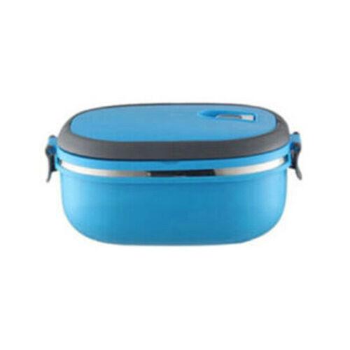 Thermisch Isolierter Lebensmittelbehälter Aus Edelstahl Mit Tragbarem Brotdosen
