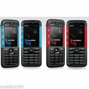 Nokia 5310 Unlocked Cell Phone XpressMusic Bluetooth Red ...