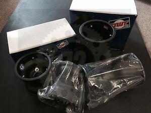 Go-Kart-Wheel-Set-034-SE-034-130mm-212mm-Solid-Magnesium-Wheels-SET-of-4-NEW