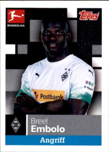 Breel Embolo TOPPS Bundesliga 2019//2020 Sticker 212