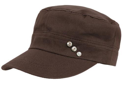 Baseball Cap Damen Kappe Schirmmütze Mütze Kappe Military Style K006