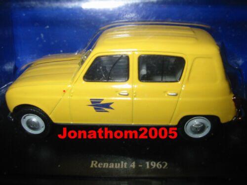 RENAULT 4 LA POSTE 1962 au 1//43°