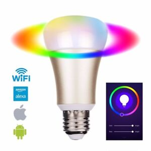Smart-Multi-color-WiFi-Led-Dimmable-Light-Bulb-Works-with-Alexa-and-Google-Home