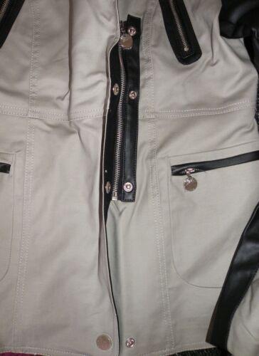 34 taupe Mandarine Gr noire veste Parka TH0q0Ew