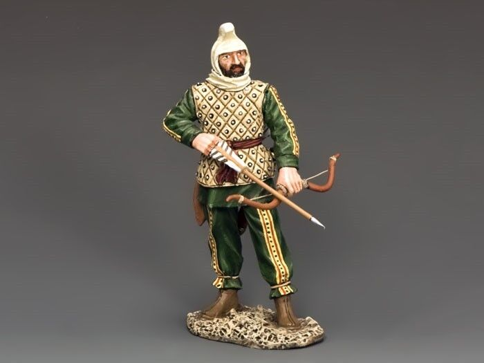 King & Country Soldiers Ancient Greece Persian Archer Ready Collectible AG019