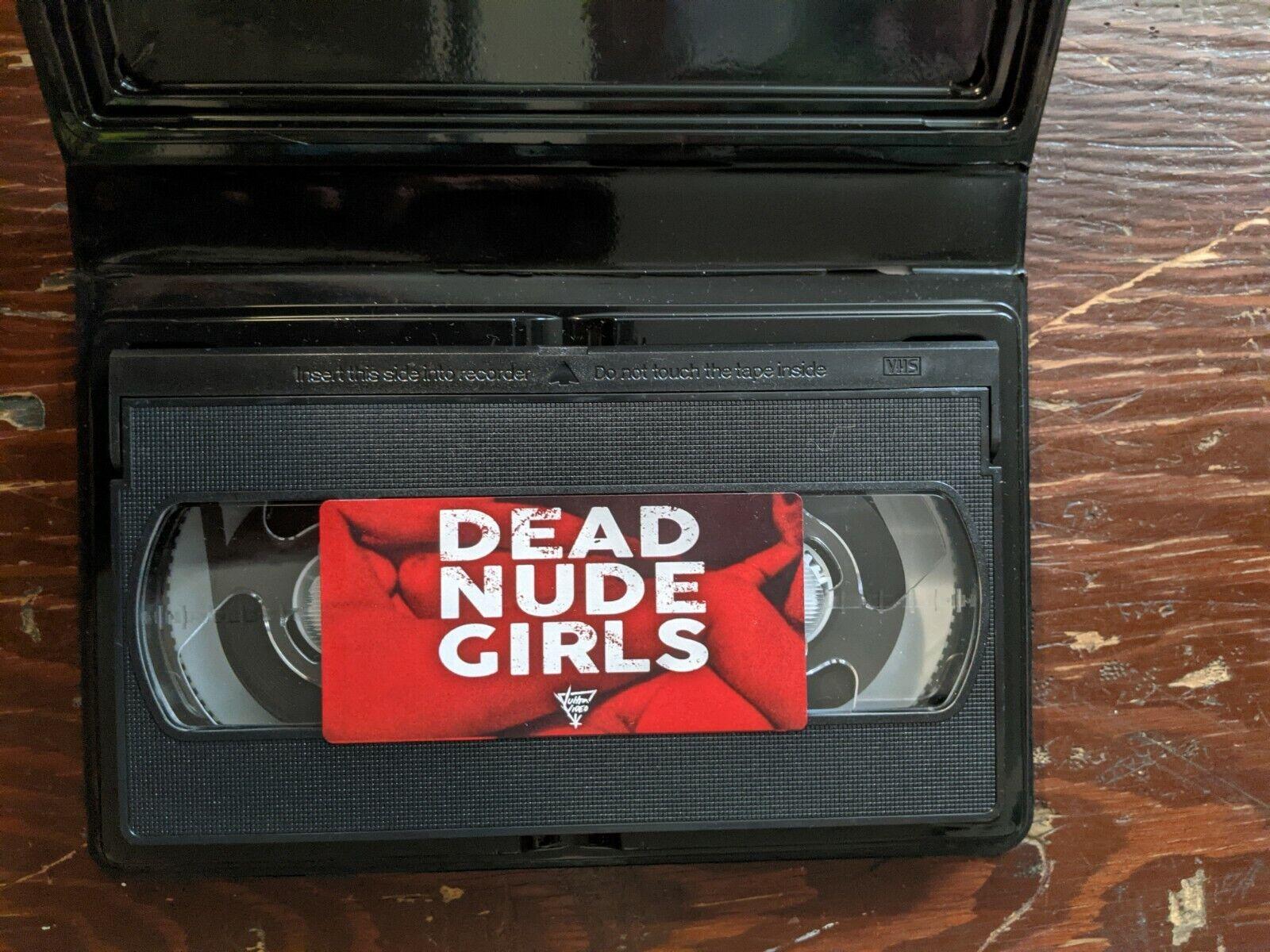 Sale Rabattcodes Dead Nude Girls VHS Ryan Nicholson Schnäppchen 20 ...