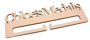 Personalised-Medal-Holder-4mm-MDF-Wooden-Craft-Blank-Add-Your-Own-Name