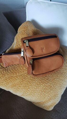 Vintage Frye Leather Fanny Pack Belt