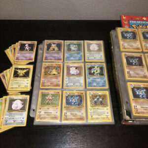 Pokemon-Card-Lot-Vintage-WOTC-Pack-First-Generation-Possible-First-Edition-Hol