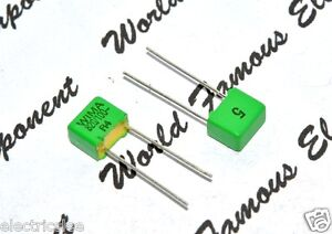 10pcs-WIMA-FKP2-820P-820PF-0-82nF-0-82nF-100V-5-pitch-5mm-Capacitor