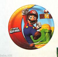 Super Mario Bros 8-paper Lunch Plates Multi-color Party Supplies