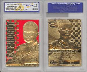 1999 DALE EARNHARDT JR NASCAR 23K GOLD CARD - GEM-MINT 10 *LOT of 5*