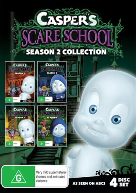 Casper's Scare School: Season 2 (All 4 Volumes) DVD BRAND NEW SEALED