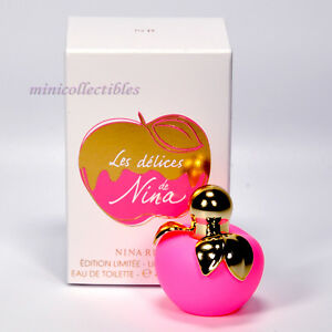 38f033fd9d Nina Ricci LES DELICES DE NINA EDT 4 ml Mini Perfume Miniature ...