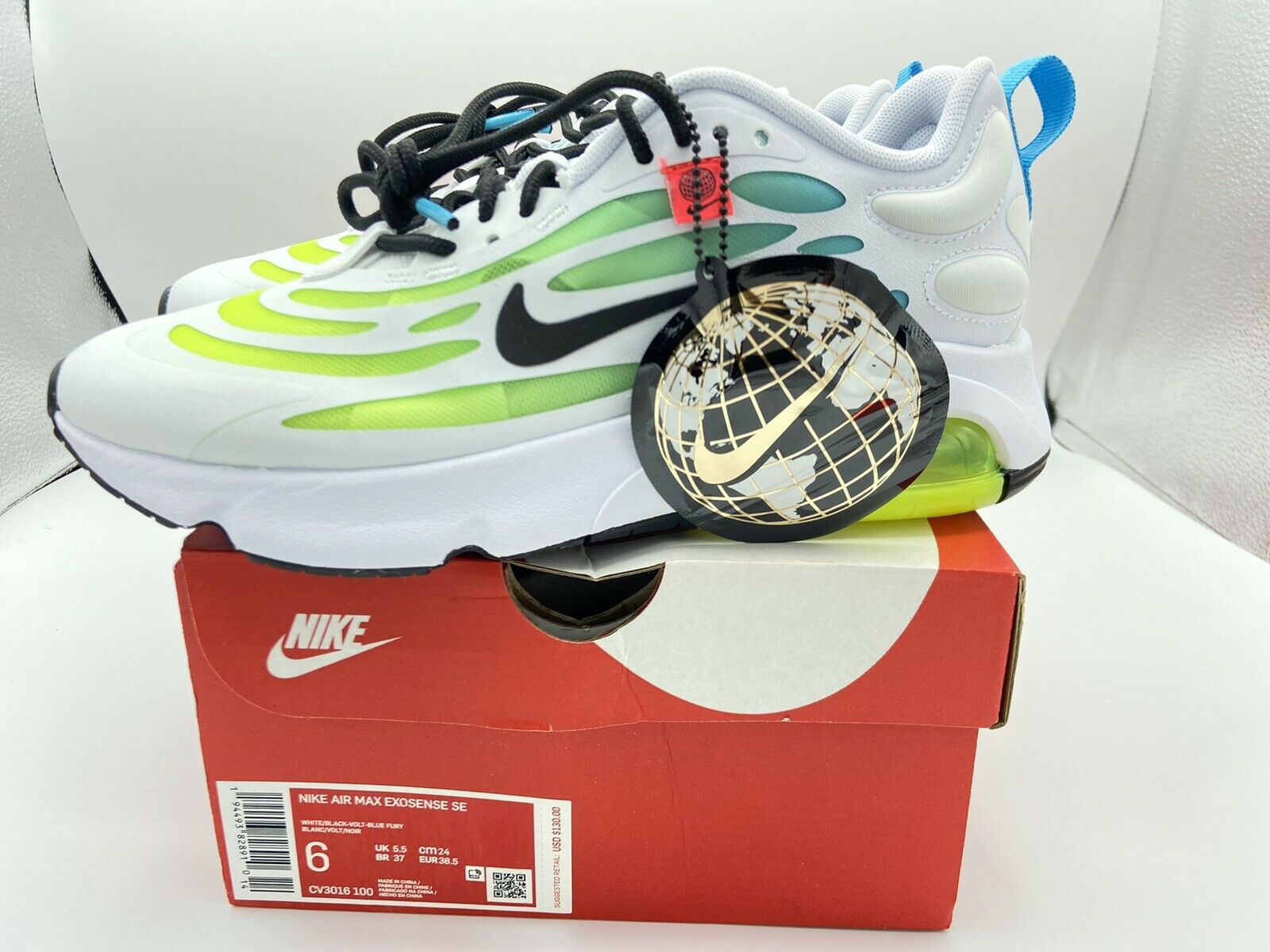 Size 6 - Nike Air Max Exosense SE Worldwide Pack 2020 for sale ...