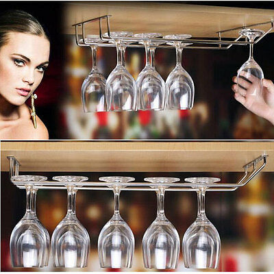 NEW Wine Glass Rack Cabinet Stand Home Dining Bar Tool Shelf Holder Hanger H7469