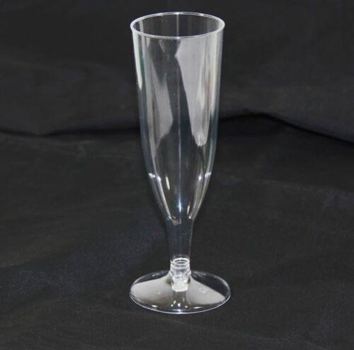 18//36//72//144 Sektgläser 0,15l Champagner Sekt Glas aus Kunststoff Sektflöte