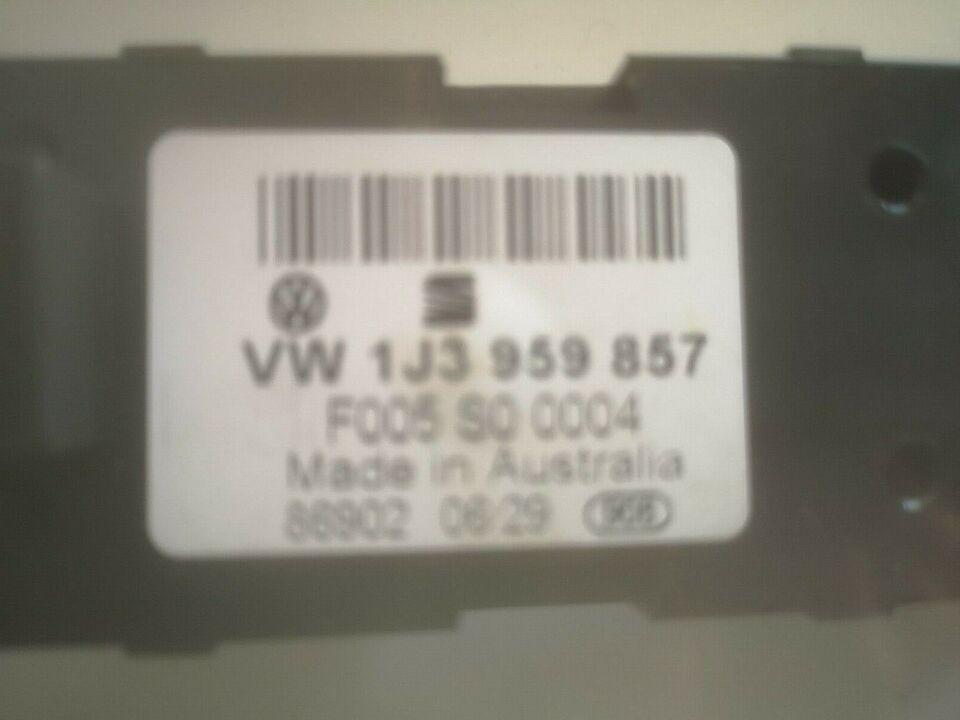 Elektriske Dele, Kontakt til Rudehejs , VW Golf 4
