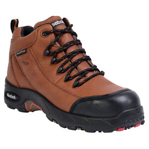 f9e4fd6ed6d Details about New Reebok RB4444 Men's Tiahawk Waterproof Hiker Boots Comp  Toe Brown All Sizes