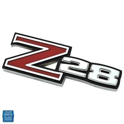 1968 Chevrolet Camaro Z28 Fender Emblem GM 3940711 Cast 3943255