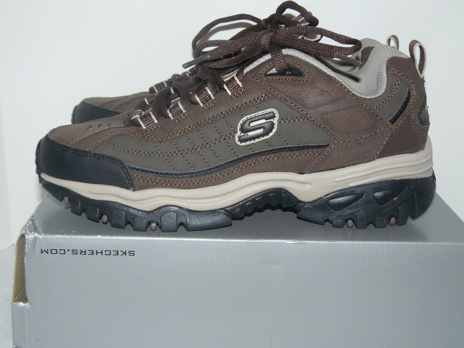 NIB Skechers Mens Downforce Brown/Taupe Comfortable best-selling model of the brand