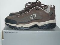 Skechers Mens Downforce Brown/taupe Size 9
