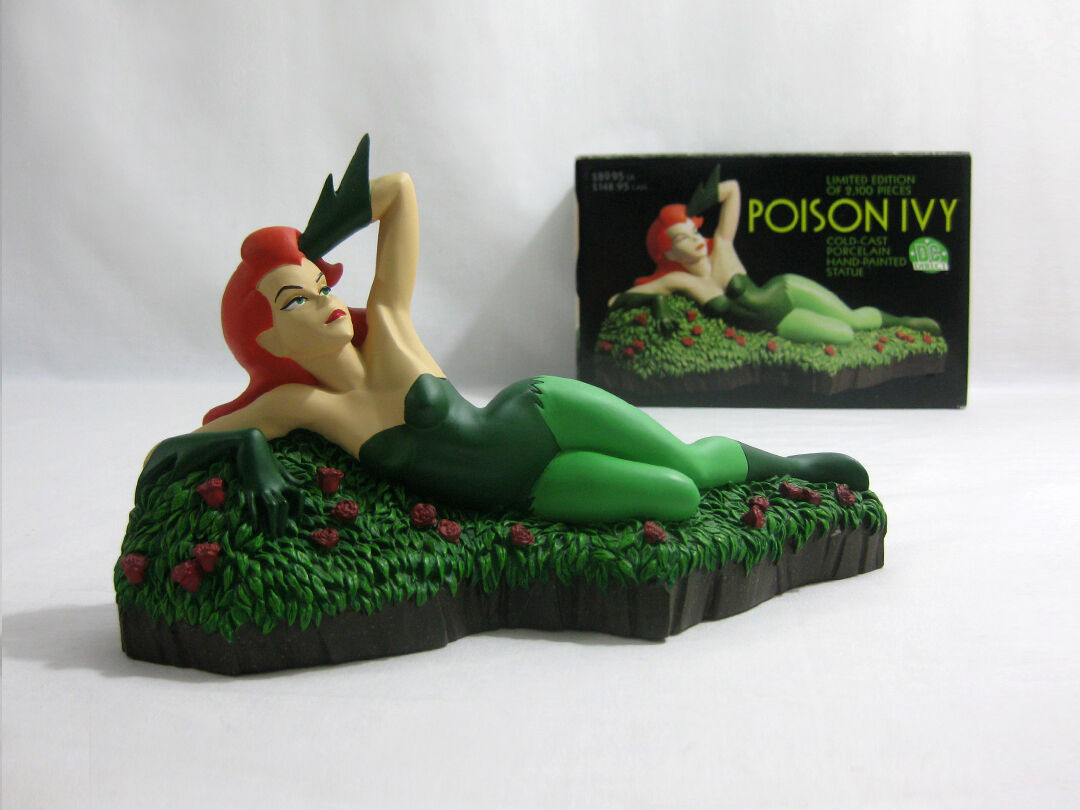 2001 2001 2001 DC Direct ✧ POISON IVY ✧ Bruce Timm Animated Statue MIB ddb0df