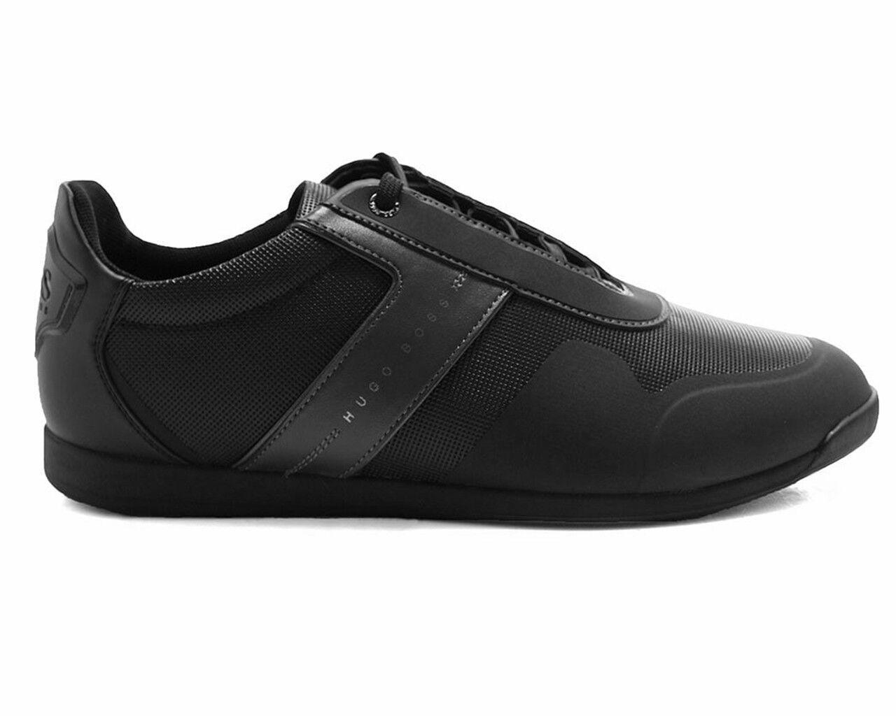 HUGO BOSS VERDE 001 LABERINTO lowp iux 50385568 001 VERDE Zapatillas Hombre Zapatos negros 80ecfc