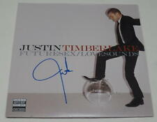 JUSTIN TIMBERLAKE SIGNED FUTURESEX/LOVESOUNDS VINYL ALBUM LP AUTOGRAPH COA