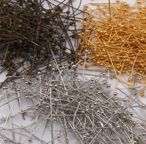 wholesale-gold-silver-Copper-Ball-Head-Pins-manual-Beading-Crafts-Findings