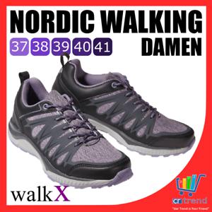 heißer Verkauf online viele Stile detaillierte Bilder Details zu WalkX Nordic Walking Damen Laufschuhe Fitnessschuhe Sport Schuhe  37 38 39 40 41