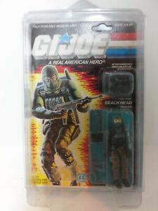 Vintage-1985-Hasbro-GI-Joe-ARAH-Cobra-BEACH-HEAD-Ranger-on-Original-Card