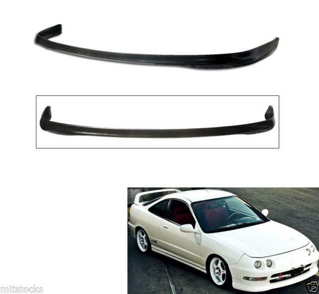 2 FOR 94-97 ACURA INTEGRA 2 4 DR TYPE R PU BLACK ADD-ON