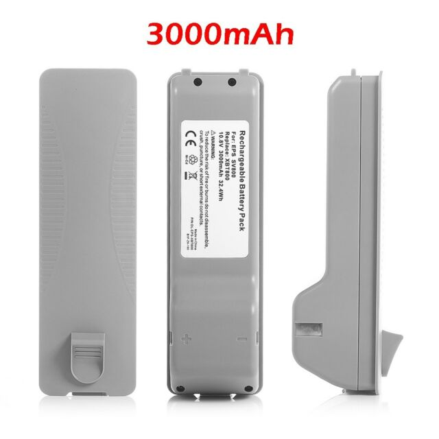 3000mAh Replacement Battery For Shark XBT800 Shark 2-in-1 Cordless Stick Vacuum