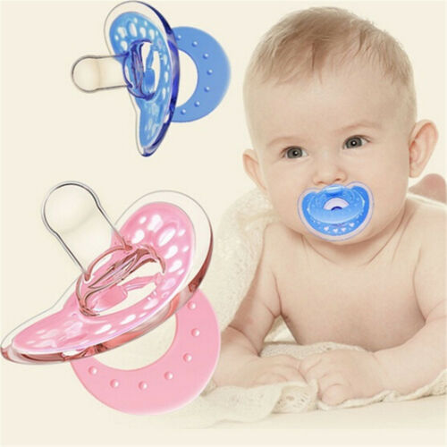 Cute Baby Newborn Pacifier Soother Silicone Dummy Biter Teether Soothers Nipples