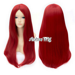 The Nightmare Before Christmas Sally Long Straight Red Hair Women ...