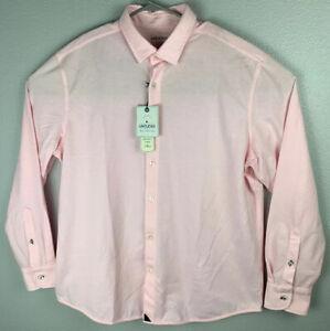 Untuckit-Folonari-Pink-Button-Up-Long-Sleeve-Shirt-Mens-XL-Extra-Large-NWT