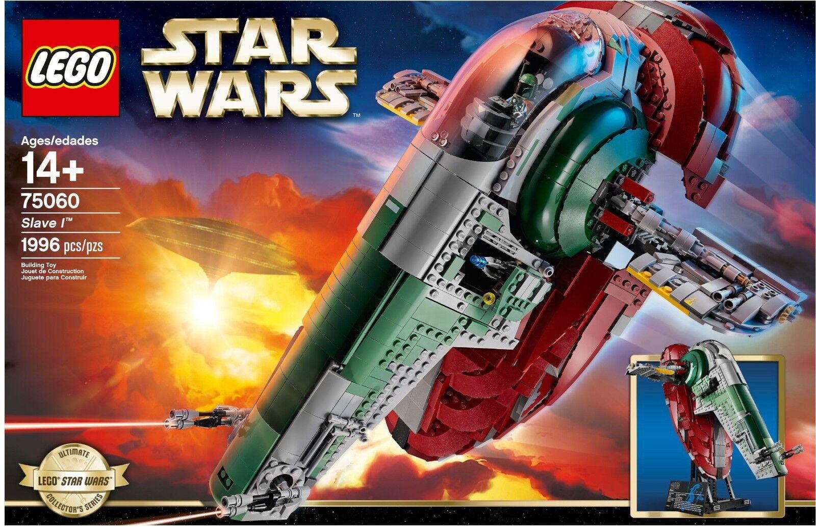 Lego 75060 Star Wars UCS Esclavo I-Sellado