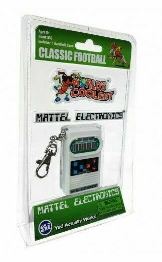 Mattel Electronic Classic Football World/'s Coolest Mini Game 2016 New NIP