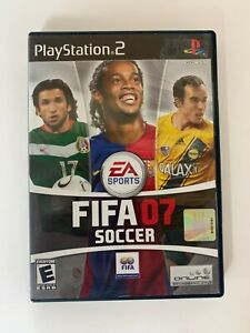 Fifa 07 Soccer Play Station 2 Game Used