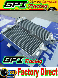 GPI NEW R&L aluminum radiator Honda CRF450R CRF450 CRF 450R 2013 13 2014 14