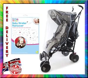 Premiers pas bébé Transparent poussette poussette Raincover Vent et Froid protéger