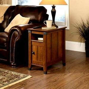 wonderful living room sofa table | Wood Side Table End Accent Sofa Living Room Furniture ...