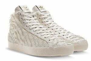 buy online 44016 fee34 Image is loading Adidas-Original-BASKET-PROFI-EAGLE-White-Leather-BRAND-