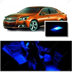 For Chevy Malibu 2013 2015 Blue Led Interior Kit Blue License Light Led Ebay