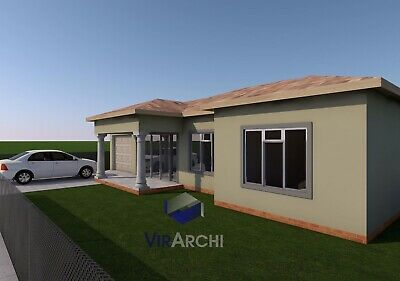 s l400 - Download Modern 3 Bedroom House Plans South Africa Pdf  Gif