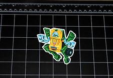 Transformers G1 Brawn box art vinyl decal sticker Autobot toy 1980's 80s
