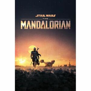 Star-Wars-The-Mandalorian-Dusk-POSTER-61x91cm-NEW